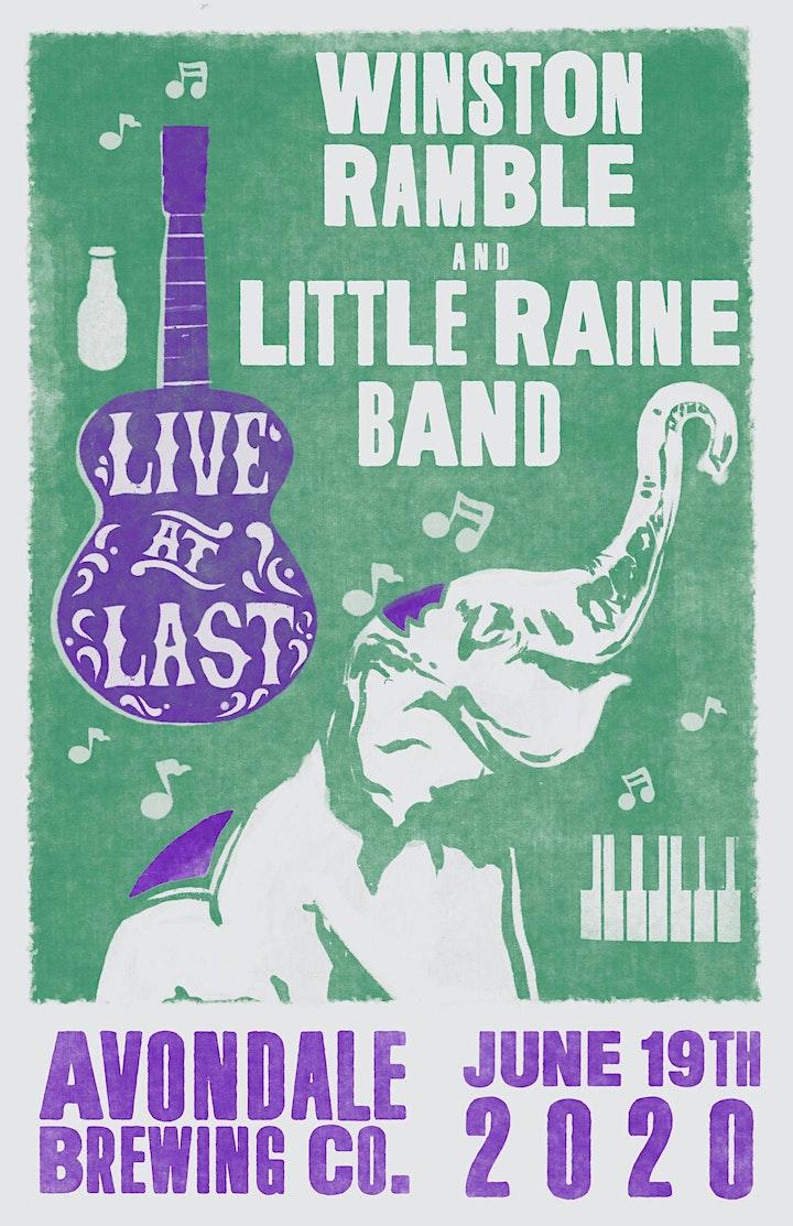 Winston Ramble with Little Raine Band image