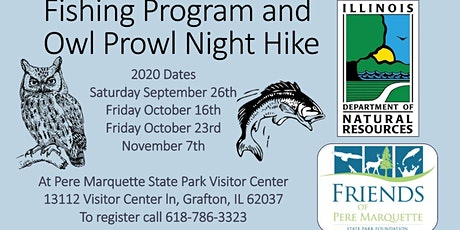 Fishing Program and Owl Prowl Night Hike tickets