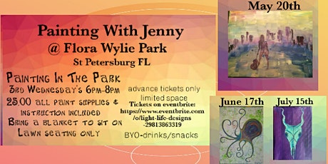 Painting in the Park tickets