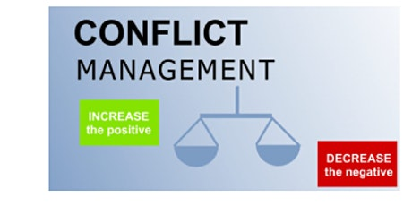 Conflict Management Virtual Live Training in Toowoomba on 20th Nov, 2020 tickets