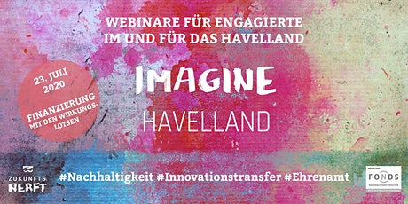 IMAGINE HAVELLAND | Webinar: Finanzierung Tickets