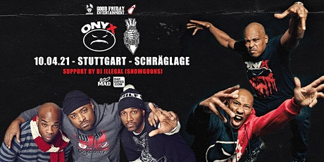 Onyx & Lords Of The Underground Live in Stuttgart - Schräglage Club Tickets