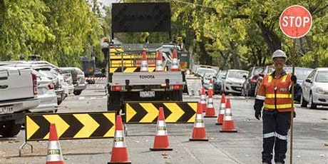 TEMPORARY TRAFFIC CONTROL DESIGN & SUPERVISION  via the SCNSC tickets