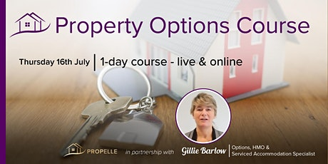 PROPELLE Property Course | The Power of Property Investing through Options tickets