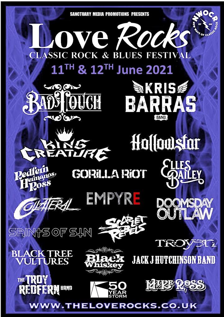 Loverocks IV 2021 - Classic Rock & Blues Festival - Bournemouth image