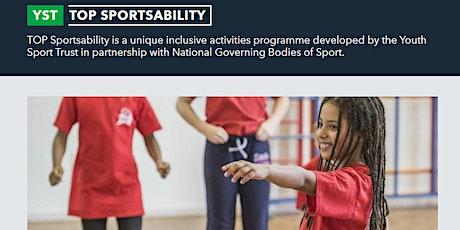 TOP Sportsability Virtual Workshop tickets
