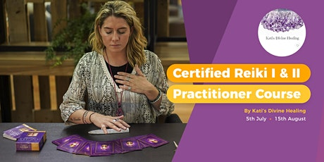 Certified Reiki I & II Practitioner Course tickets