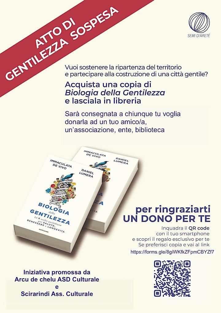 Immagine Dialogando in gentilezza presentazione del libro BIOLOGIA DELLA GENTILEZZA