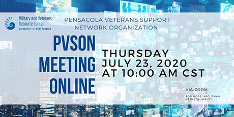 Pensacola Veterans Support Organization Network Online Meeting tickets