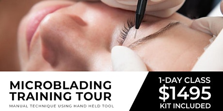Miami Microblading to Microshading Tour |  August 9 ( One Day) tickets