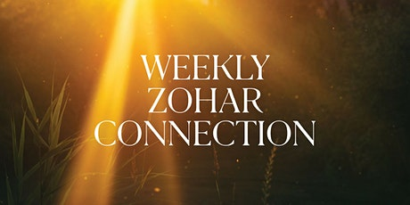 Weekly Zohar Connection 8/31/2020 - BOCA tickets