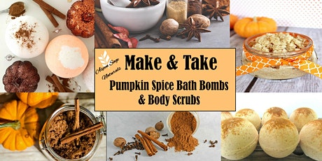 Make & Take Pumpkin Spice Bath Bombs & Body Scrubs tickets