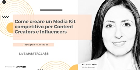 Come creare un Media Kit per Influencers e Content Creators (Firenze) biglietti