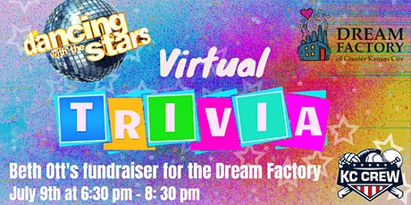 Virtual Trivia - Beth Ott's Dancing with the Stars Campaign tickets