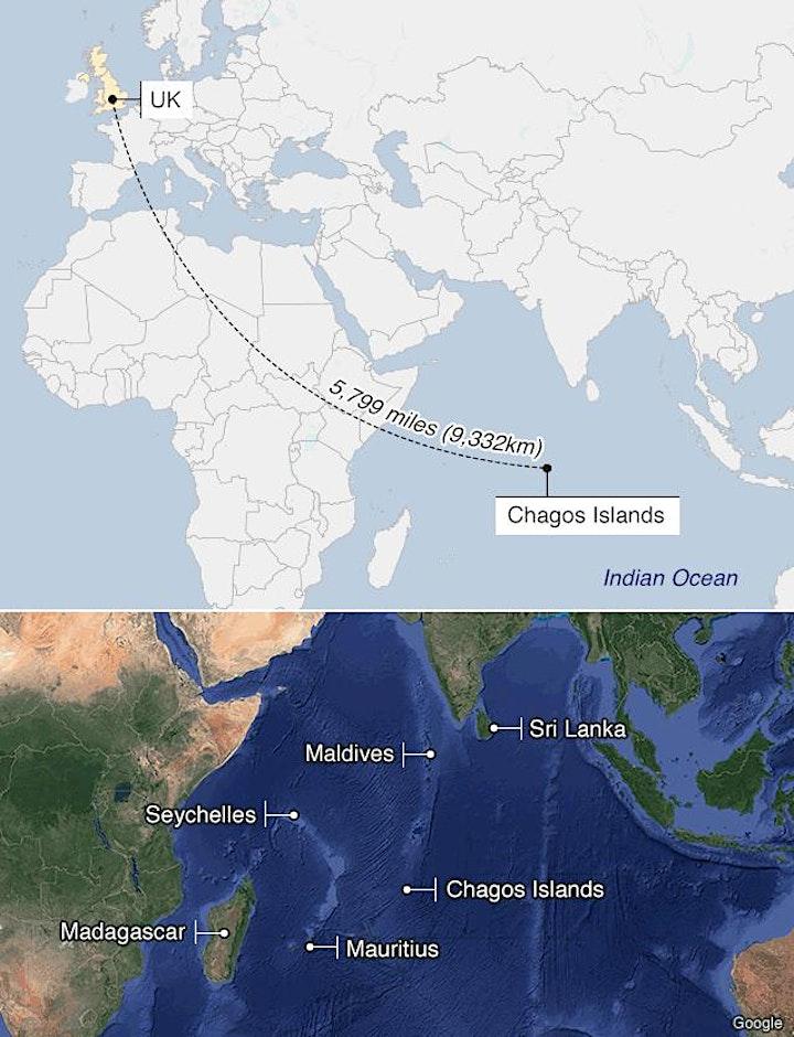 CHAGOS ISLANDS: THE JOHN PILGER REPORTS image