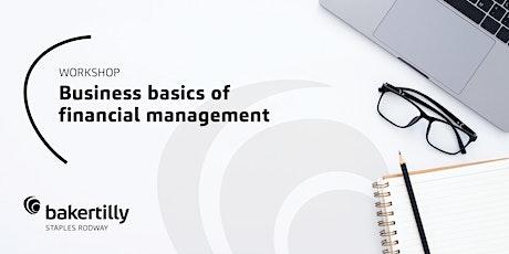 Business Basics of Financial Management tickets