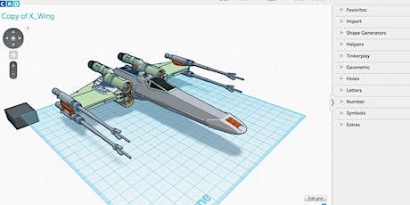 El curso se imparte de Lunes a Viernes :   Modelado 3D con Tinkercad billets