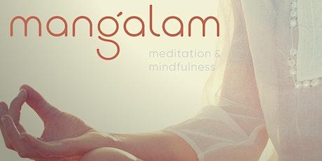 Sessões Online de Meditação Mangalam ingressos