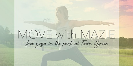 Sunset Yoga at Maple Grove Town Green 8/19 tickets