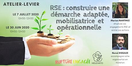 RSE : construire une démarche  adaptée, mobilisatrice  et opérationnelle billets