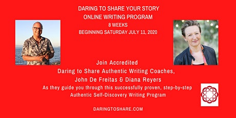 Daring to Share Your Story Online Writing Program tickets
