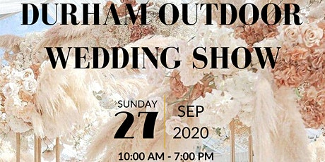 Durham Outdoor Wedding Show tickets