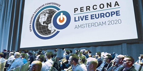 Percona Live Europe Open Source Database Conference tickets