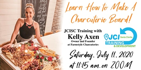 JCISC Cheese the Day! Charcuteries Board Training - July 11 tickets