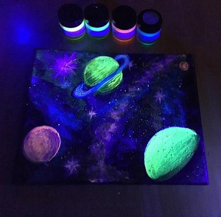 Glow Paint Night! image
