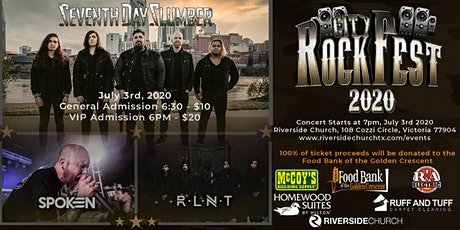CITY ROCK FEST Benefit Concert for Food Bank of the Golden Crescent. tickets