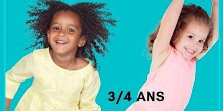 COURS EVEIL A LA DANSE3/4ansSamedi 11H billets