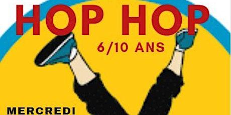 COURS HIP-HOP   6/10ansMercredi 17H-18H billets