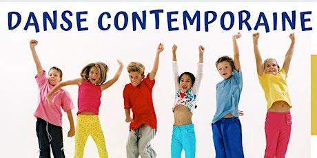 COURS DANSE CONTEMPORAINE  4/6 ans  et 7/10 ans  Dimanche  16h-17h /17h-18h billets