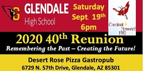 GHS Class of 1980 - 40th Reunion tickets