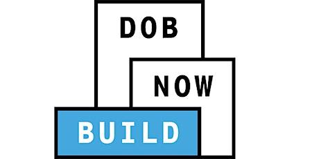 DOB NOW: Build - Cranes CNs: Mast Climbers tickets