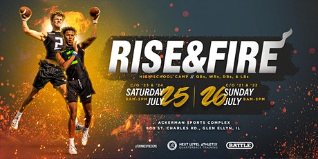 Rise & Fire Chicago Class of 2023/2024 Camp tickets