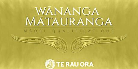 Mātauranga Māori Qualifications Huitopa Consultation tickets