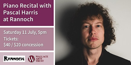 Piano Recital with Pascal Harris tickets
