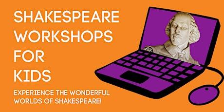Shakespeare Workshops for Kids (online) tickets