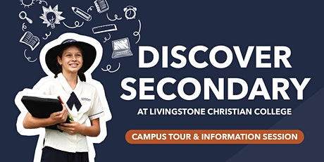 Discover Secondary at Livingstone Christian College (IN-PERSON) tickets