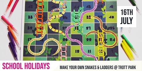 SCHOOL HOLIDAYS | DIY Snakes & Ladders to celebrate World Snake Day tickets
