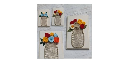 String Art Floral Bouquet tickets