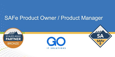 SAFe Product Owner/Product Manager 5.0 (Español) ingressos