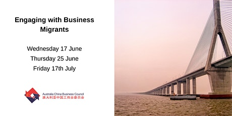 Engaging with Business Migrants tickets