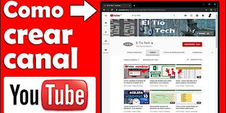 El curso se imparte de Lunes a Viernes: Crea tu canal de Youtube entradas