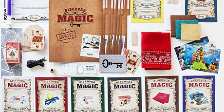 Discover Magic Purple Wand Online Virtual Magic Camp tickets