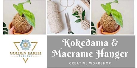 Kokedama & Macramé Hanger Workshop tickets