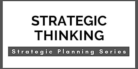 Strategic Thinking - Sharpen Your Brain! tickets