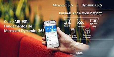 Curso MB-901: Microsoft Dynamics 365 Fundamentals -Gratis entradas