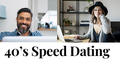40s Online Speed Dating: Ages 40-49 tickets